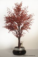 Red Maple tree  Erable Rouge by ohmymarie