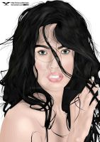 She's Megan Fox by saldeesign