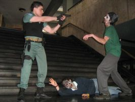 resident evil cosplay by Chris--Redfield