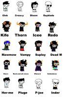 Homestuck acording to my little Brother by XxLaLa-Chan5000xX