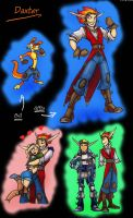 HUMAN-Daxter OMGwhut by animon
