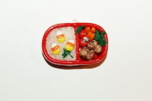 Polymer Clay Bento Box by CharmStop