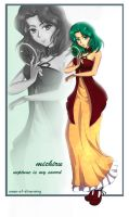 SKP: Sailor Neptune by Omen-of-SilverWing