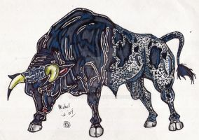 New TH Character :The Bull: by MWRoach