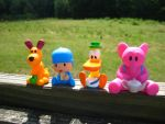 Pocoyo and Friends: Pasture by joshmb509