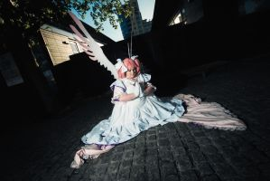 Ultimate (Goddess) Madoka by blissfulbanana