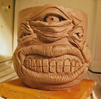 3 EYED OGRE COFFEE MUG by CorazondeDios