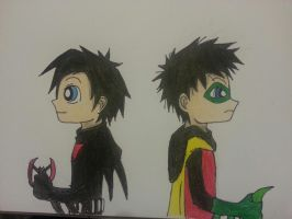 Terry and Damian by Randompikaturtle