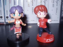 80s anime Chibi figures. by KittyChanBB