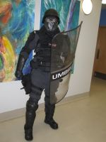 2013 Sukoshi Con, Day 1 RE: Umbrella Corp 1 by AxelHonoo
