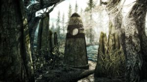 The Standing Stone II by Solace-Grace