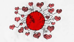 Sharing love with Japan .. by spiritmod