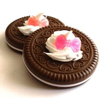 Choco Cookie Deco Mirror by FatallyFeminine