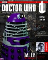Dalek Time Controller DW Figurine Magazine Cover by Hisi79