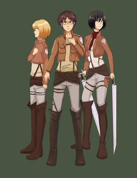 Attack on Titan by x-Charis-x