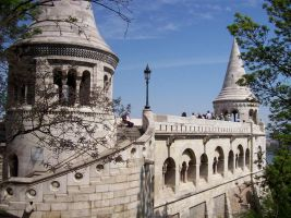 Fisherman's Bastion by Arya-DragonQueen