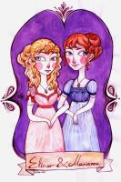 Elinor and Marianne by rynarts