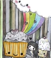 Rainbows and candy by Panshi