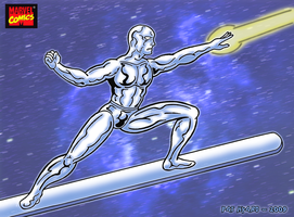 The Silver Surfer by HK666
