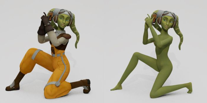 Hera locked and loaded by habariart