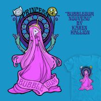 Bubblegum Nouveau by khallion
