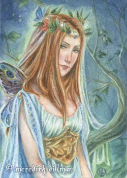 ACEO - Faery Queen by MeredithDillman