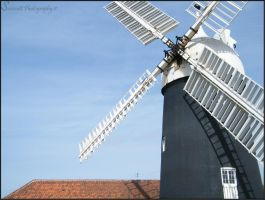 Tuxford Windmill by Samcatt