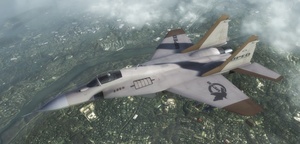 MiG-33 - Universal Peace Enforcement Organization by Jetfreak-7