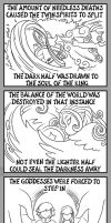 Creation of Demise: pg 2 by MuseWhimsy
