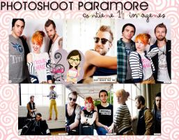 Photoshoot Paramore #1 by LuuciEditions