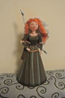3D Papercraft - Merida by geek96boolean10