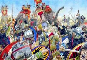 Battle of Frygium 27.July 363 by AMELIANVS