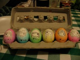 Kawaii Kingdom Hearts Eggs X3 by Princesses-of-Heart