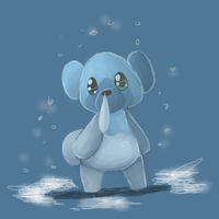 Cubchoo by kitzune-griffith