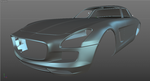 Mercedes-Benz SLS AMG WIP 01 by SonicBlue555