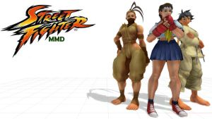 MMD MODELS STREET FIGHTER PACK2 DL by aittel