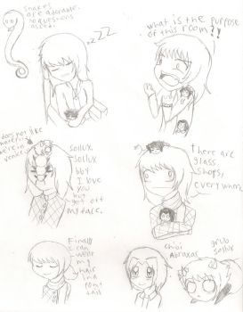 hotel doodles by yume-soul210