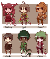 Adopts 44-49 **OPEN* 3/6 by Elysa-Adopts
