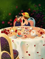Afternoon Tea by 29chelizi