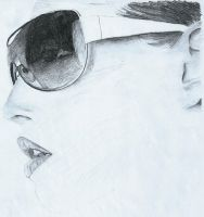 Woman in Glasses by mor4674j