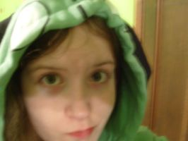 Me in GIR jacket by Chesters-iffy-artxD