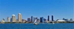 Beautiful downtown San Diego by DRACON72