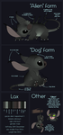 Lax reference sheet by GoldenNove