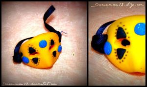 Party Poison Mask Ring by Dawnmoon13