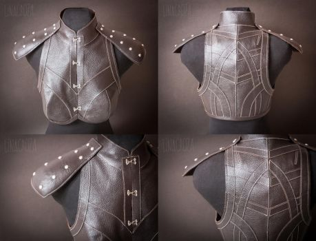 Leather armour from Dragon Age: Inquisition by GreatQueenLina