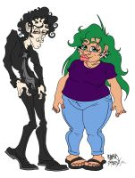 Hades and Persey by JoJo-Seames