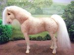 OOAK felt fabric model horse by Tawneyhorses