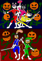 Team Shinobi's Pumpkin Attack by CaseyDecker