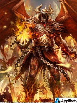 Demon King Advanced by Concept-Art-House