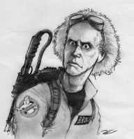 Back to the Ghostbuster by RobtheDoodler